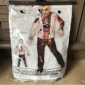 Zombie costume size 8-10